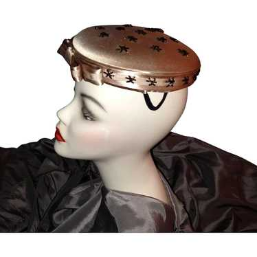 1950's-60's Pill Box Hat