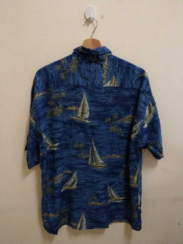 Vintage Vintage Campia hawaiian blue Shirt Hawaii… - image 3