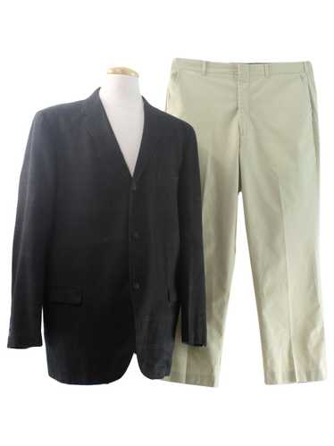 1960's Sears Sportswear Mens Mod Combo Suit