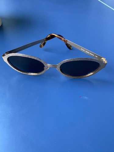 Fendi Vintage Fendi 1990s Round Sunglasses - image 1