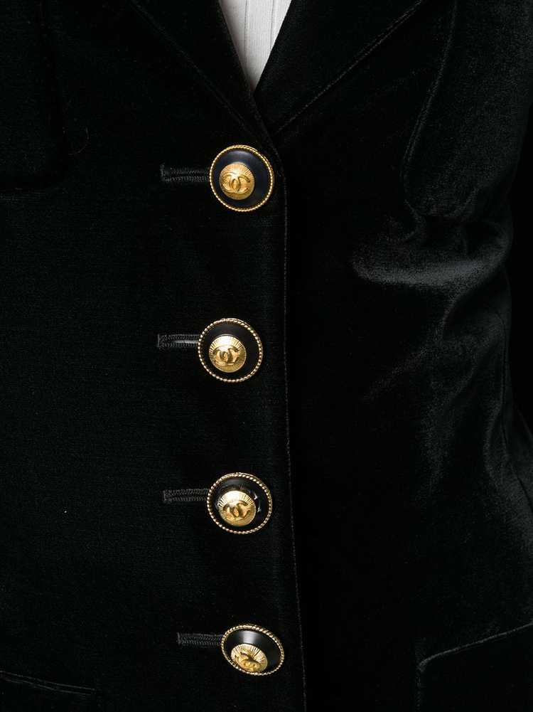 Chanel Pre-Owned 1990's nautical jacket - Black - image 5