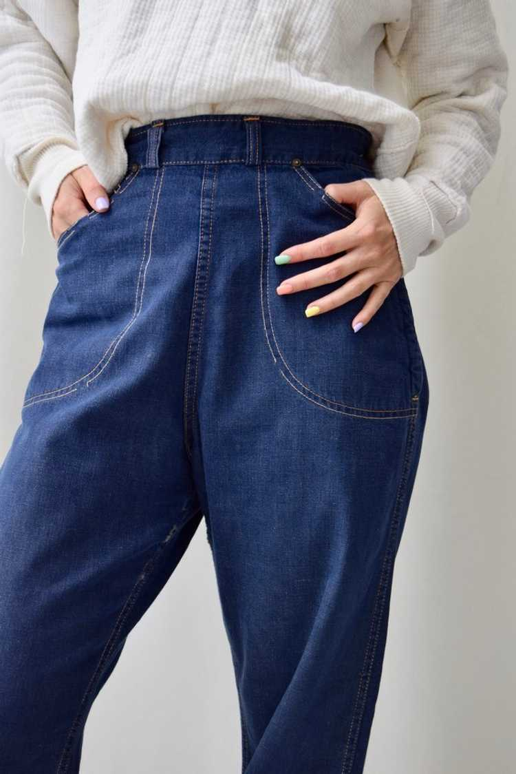 """Fifties """"Caribou Rider"""" Side Zip Jeans - image 4"""