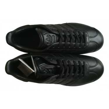 Adidas Gazelle Black Leather Trainers for Women 38