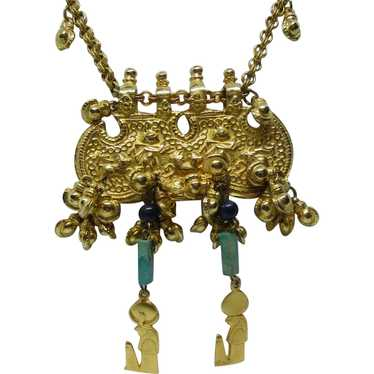 Accessocraft Egyptian Revival Necklace