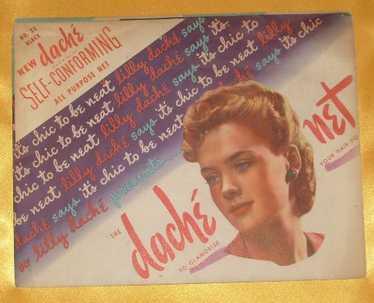 Vintage Lilly Dache Fine Mesh Hairnet Black