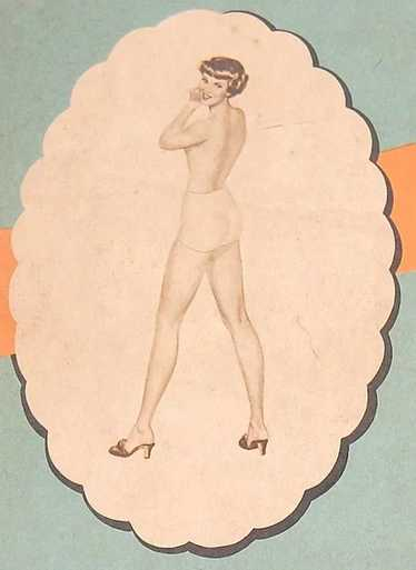 1930/40s Miss Peachtree ~ Stockings Lingerie Box