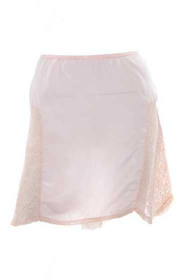 1940's Pink Silk & Lace Tap Shorts Undergarments S