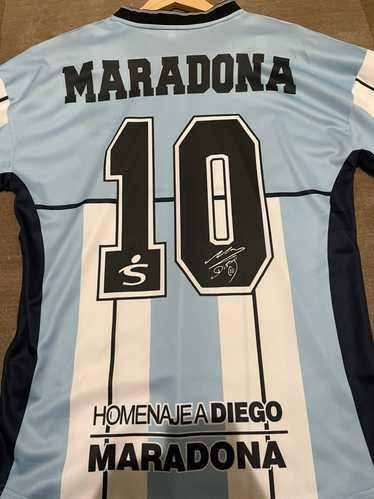 Fila × Vintage Maradona 2001 Homage Soccer Jersey