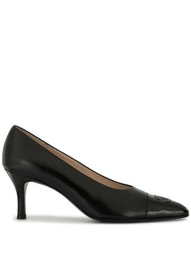 Chanel Pre-Owned 1996 CC pumps - Black