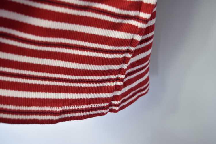 Issey Miyake ISSEY MIYAKE 90s old stripe polo shi… - image 13