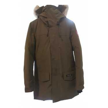 Canada Goose Green Velvet coat for Men S Internati