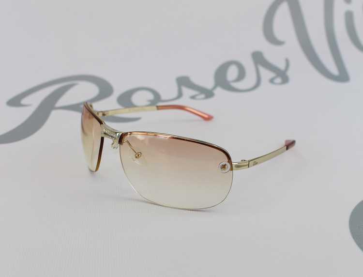 Christian Dior 2000s Logo Center Sunglasses - image 2