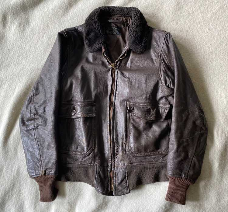 Vintage G-1 flight jacket - image 1