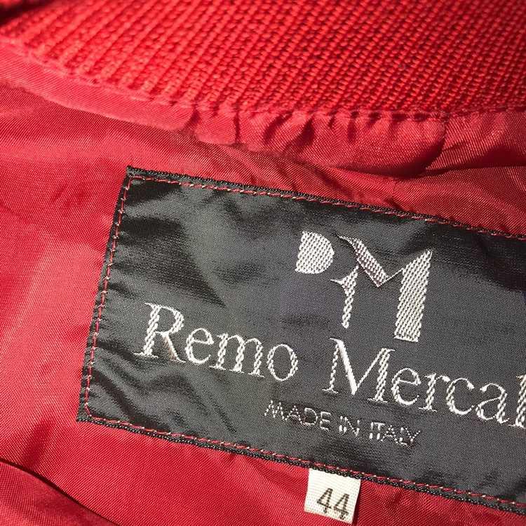 Italian Designers × Vintage Red Leather Crewneck … - image 3