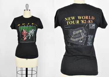 1982-83 RUSH Signals Tour T-Shirt