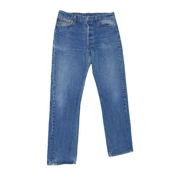 Levi's × Vintage 1990s Vintage Levis 501 Jeans 34… - image 1