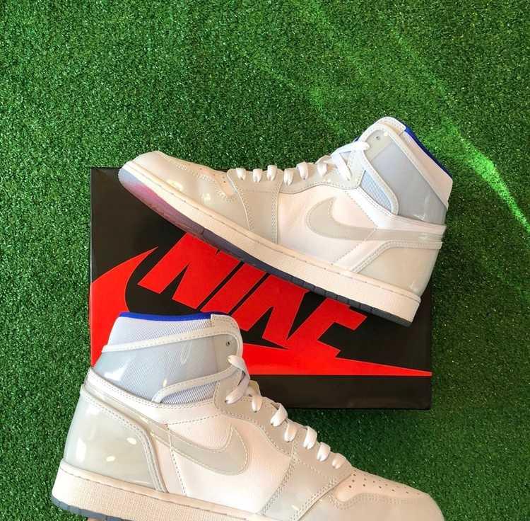 Jordan Brand × Nike Jordan 1 Zoom High Racer Blue - image 5