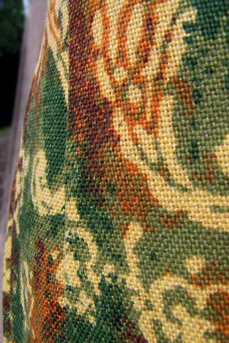 Cotton twill pencil skirt - image 5