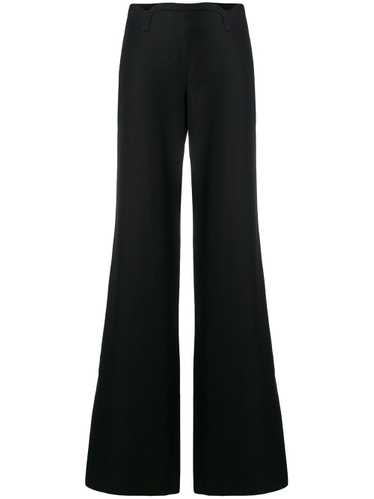 Versace Pre-Owned flared trousers - Black