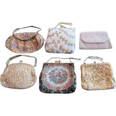 Lot of Purse Handbag Clutch Purse Evening Bag VINT