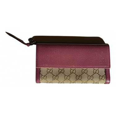 Gucci Pink Cotton wallet for Women