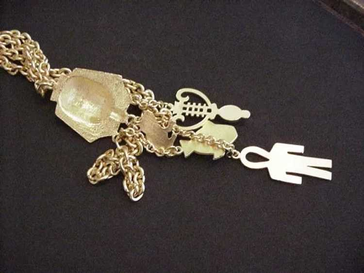 Egyptian Revival Necklace - image 4