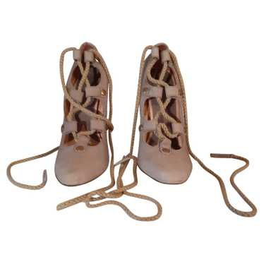 Vivienne Westwood Lace-up shoes Suede in Beige