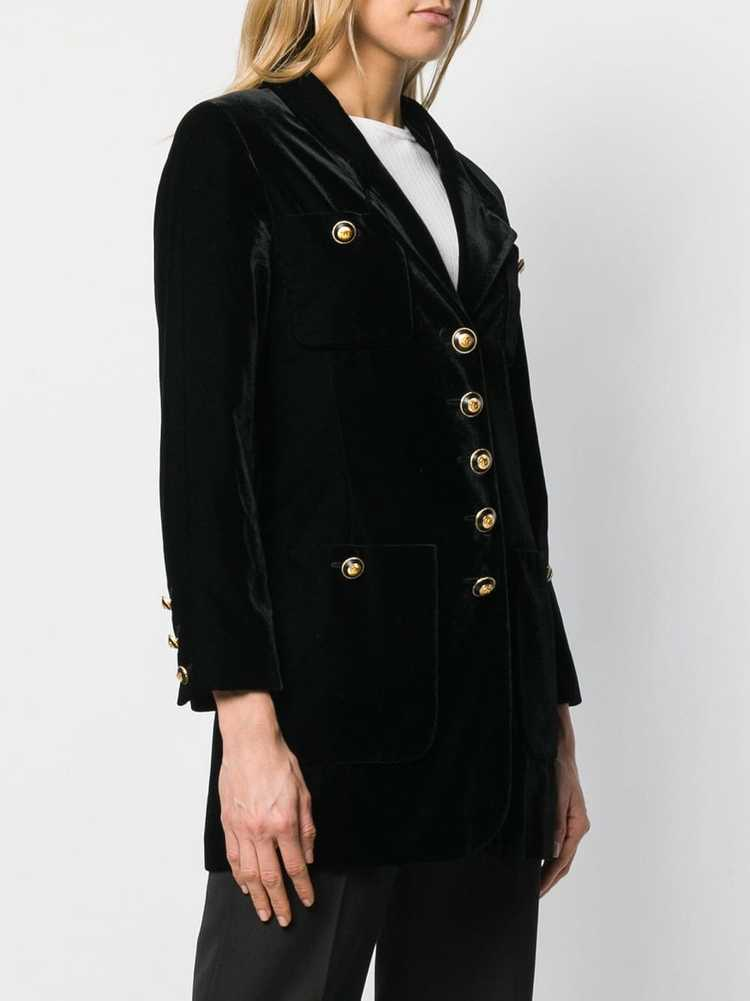 Chanel Pre-Owned 1990's nautical jacket - Black - image 3