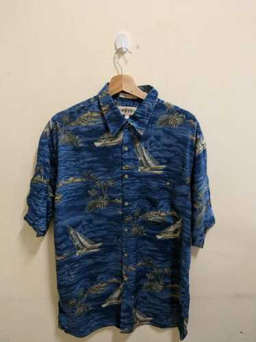 Vintage Vintage Campia hawaiian blue Shirt Hawaii… - image 1