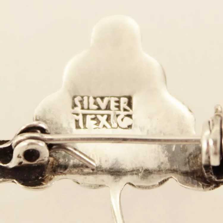 Early Mexico Sterling Silver Triple Grape Bunch B… - image 7