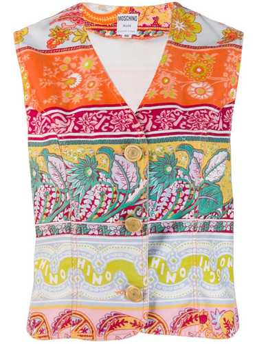 Moschino Pre-Owned 1990's floral print vest - Oran