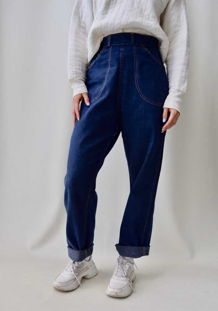 """Fifties """"Caribou Rider"""" Side Zip Jeans - image 3"""