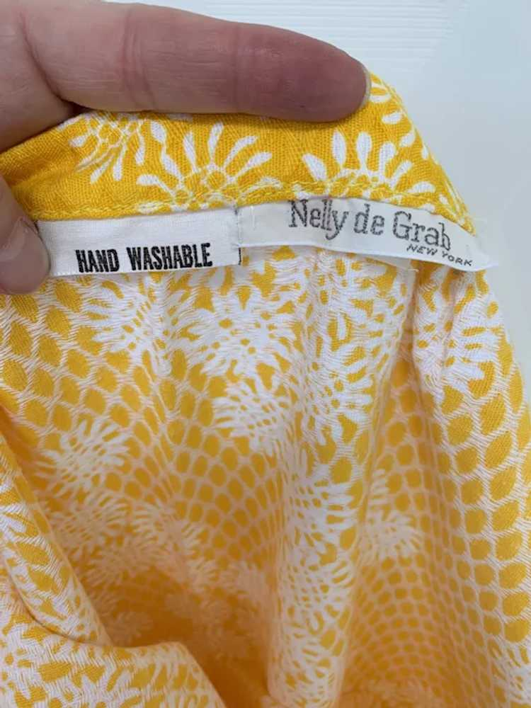 Nelly de Grab New York,Vintage 1970s, NOS Yellow … - image 7