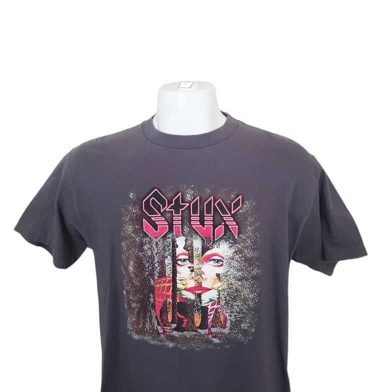 Band Tees × Rock T Shirt × Rock Tees VTG Styx Ban… - image 9