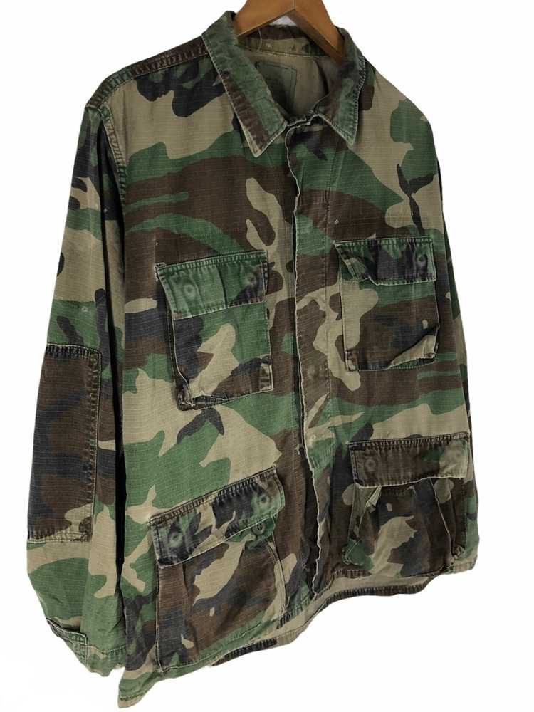 Camo × Military Vintage Military Camo Jacket - image 4