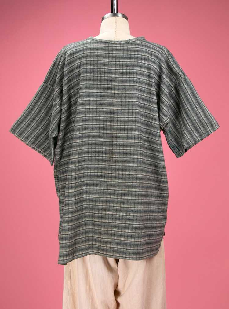 Antique / Early Vintage 1910's - 20's Grey Flanne… - image 9