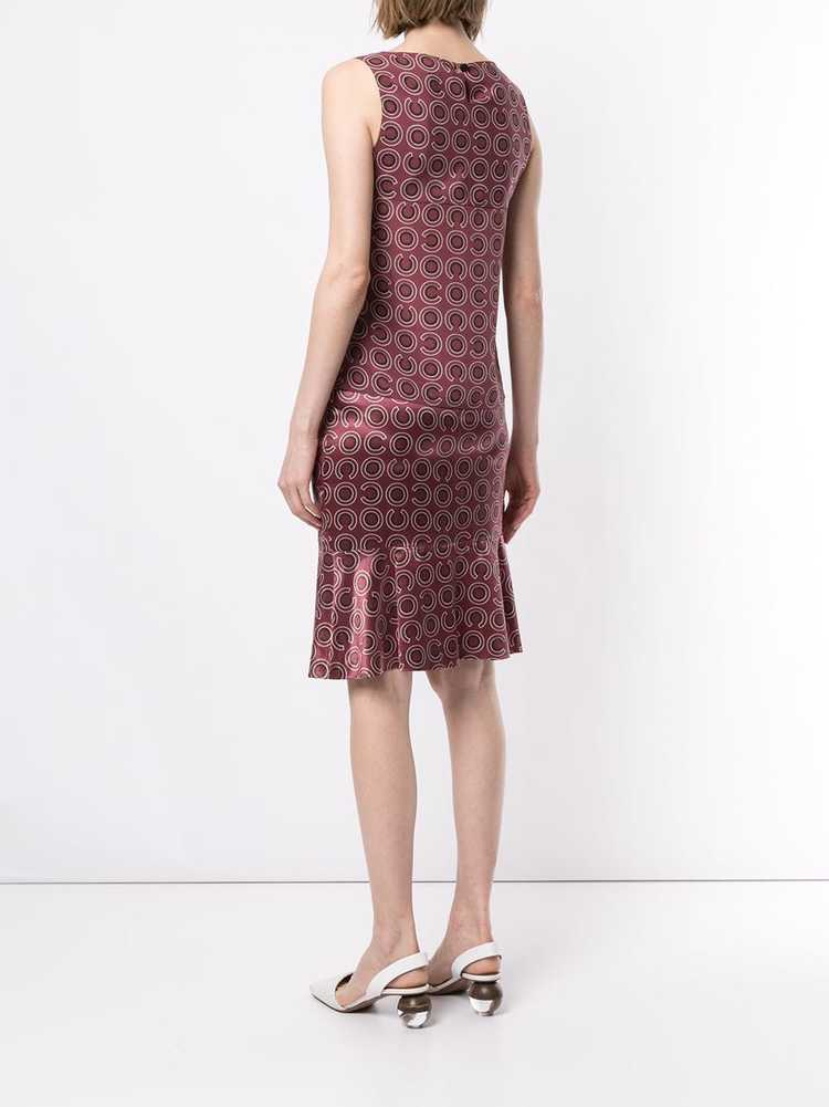 Chanel Pre-Owned 2001 geometric print two-piece s… - image 4