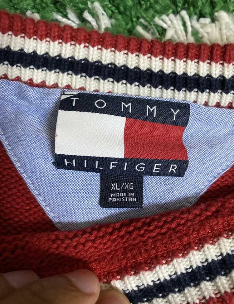 Tommy Hilfiger × Vintage Tommy Hilfiger Knitted S… - image 3