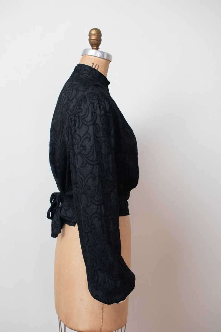 Antique Embroidered Blouse - image 2