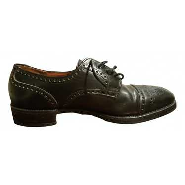 Church's Black Leather Lace ups for Men 7.5 UK
