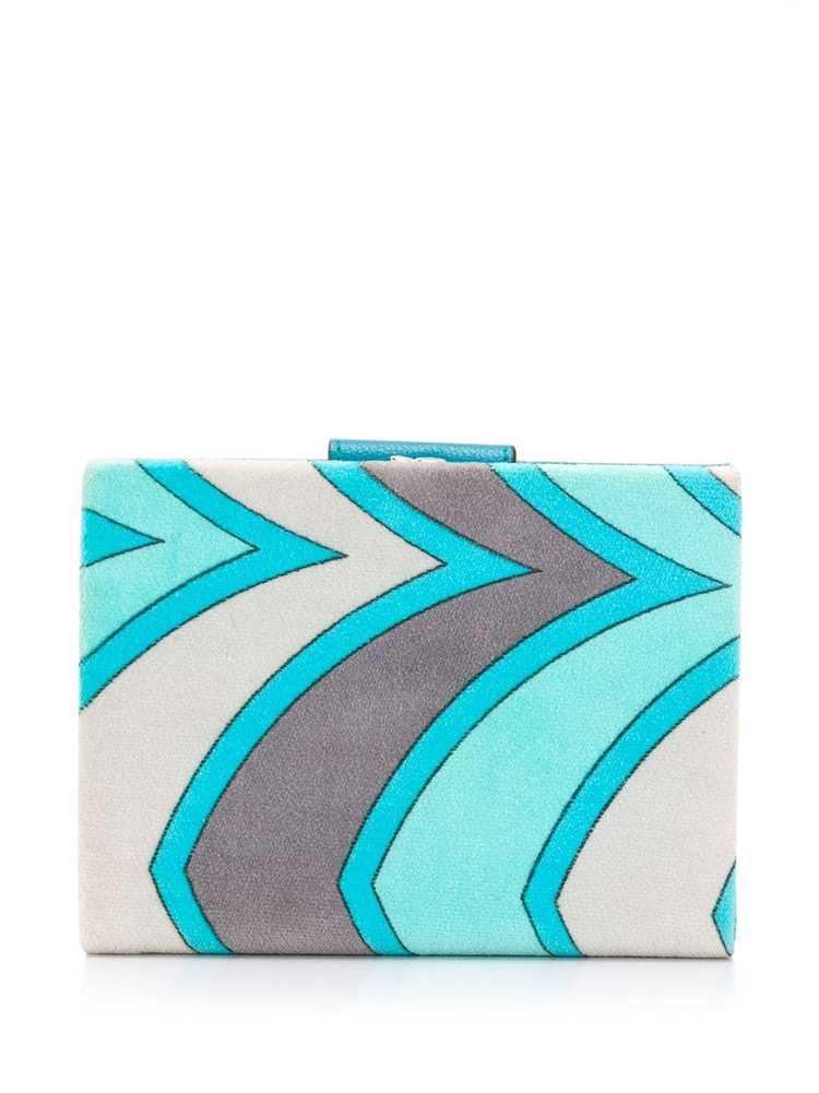 Emilio Pucci Pre-Owned 1960's printed wallet - Bl… - image 2