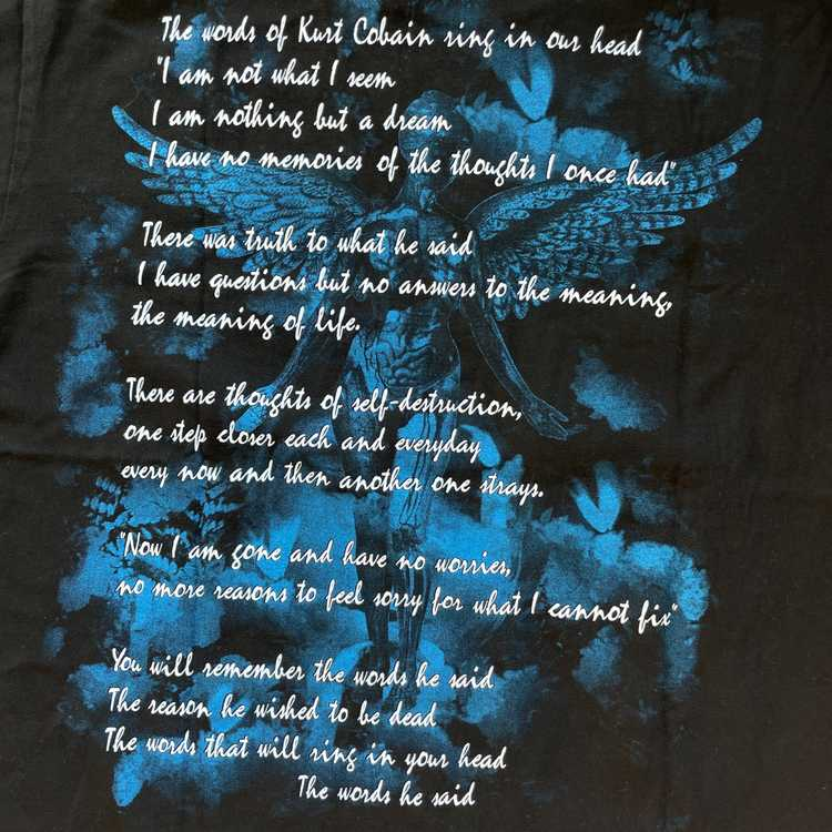 Vintage Nirvana Kurt Cobain T-shirt - image 5