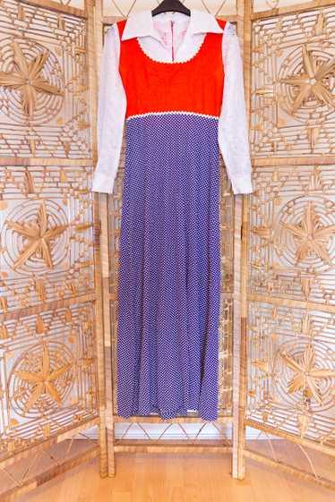 Polka Dot Lace Dress