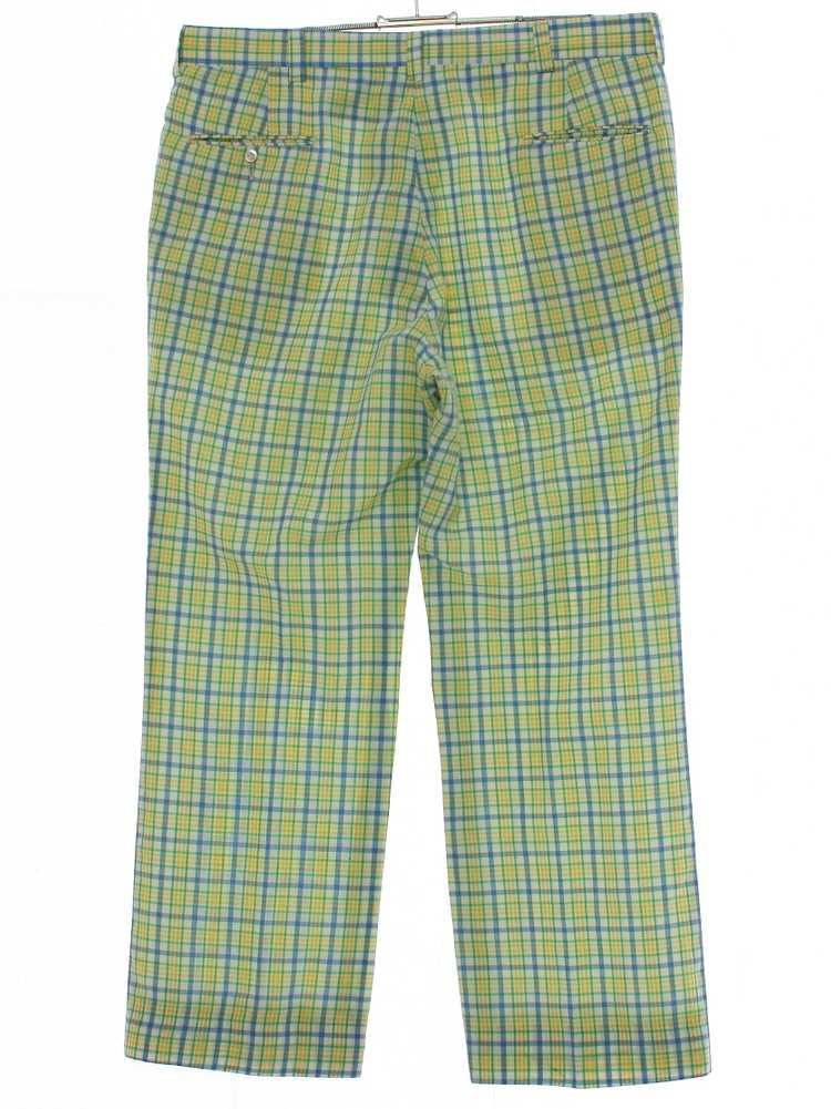 1980's Mens Plaid Golf Pants - image 3