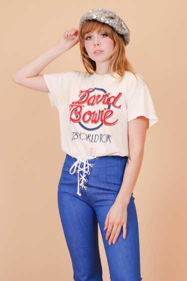 Vintage 1978 David Bowie Tee