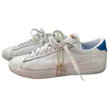 Nike White Leather Trainers for Women 5.5 UK