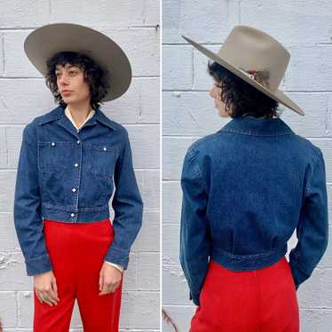 1950s Levi's Shorthorn Denim Jacket (XS/S)