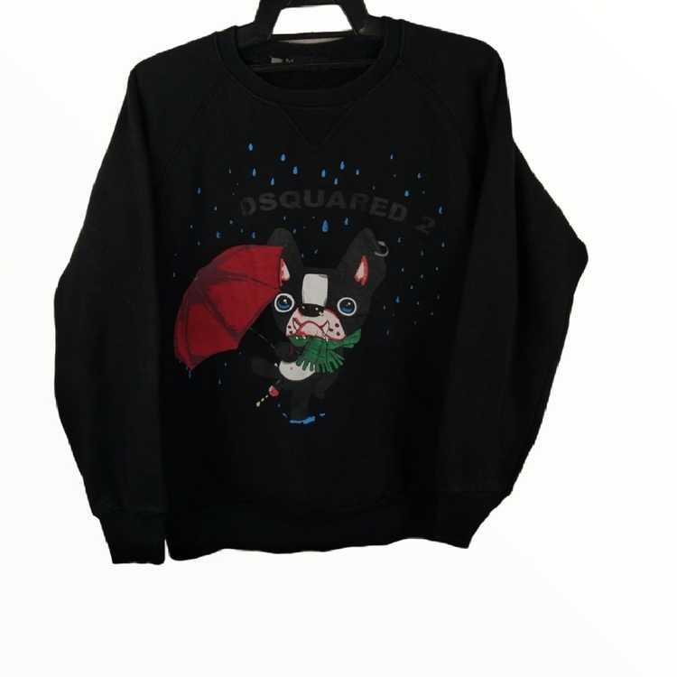 Dsquared animal motive jumper crewneck italy sweatshirt