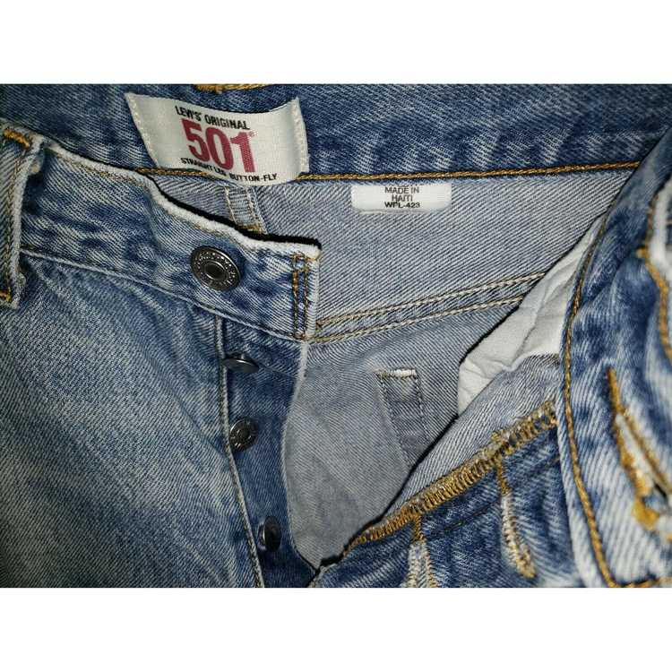 Levi's Vintage Clothing 501 High Rise Distressed … - image 5