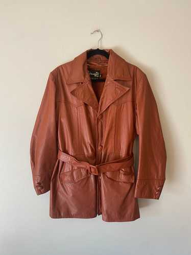 The Leather Shop The Leather Shop 70s Burnt Orange